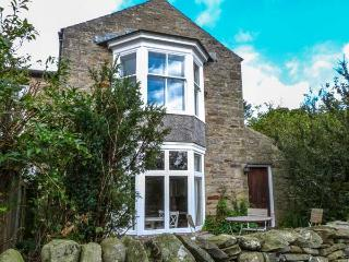 SUNNYBRAE EAST COTTAGE, village location, open fire, garden, in Healaugh, Ref 18445, Swaledale