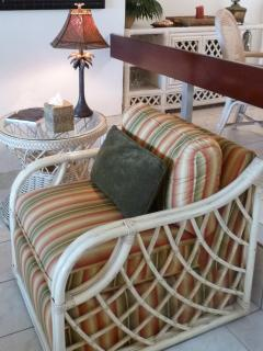 Lots of comfortable cozy sitting areas to read a good book.