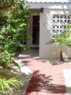 Entry to your villa's front door