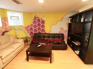 Beautiful 1BR, sleep4, Adams Morgan, DuPont, Zoo, Washington DC