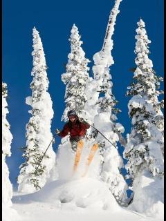 Skiing The Big Mountain
