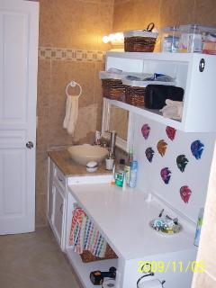 Bathroom, just remodeled.