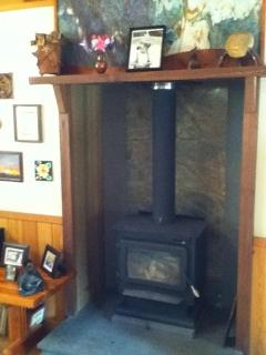 wood stove for thoses cooler nights