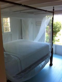 Spice cottage master bedroom