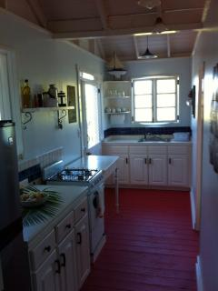 Calabash cottage kitchen