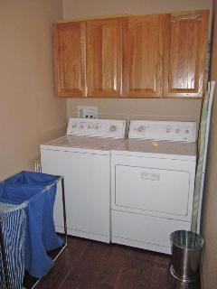 Laundry Room off main foyer