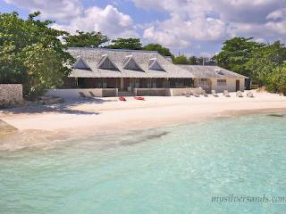 Rum Jetty Jamaica-6 bedroom house on private beach, Silver Sands
