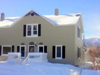 Haggin Guest House - in town, 6 BR + hot tub, Red Lodge
