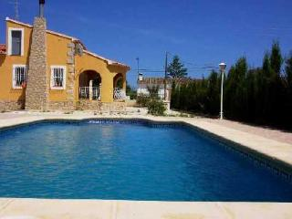 Costa Blanca Villa. 3 Bed. Private Pool, A/C, WiFi, Jalón