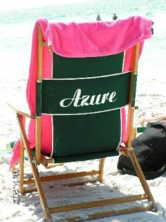 Beach service provided seasonally (umbrella and two chairs) - March thru October