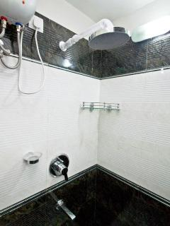 Rain Shower in bathroom 1