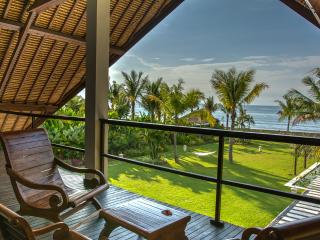 Spacious Luxurious Bali style Beach Villa featuring 4 stylished bedrooms & staff