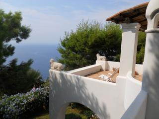 Villa Solaro holiday vacation villa rental italy, capri villa with view, Capri