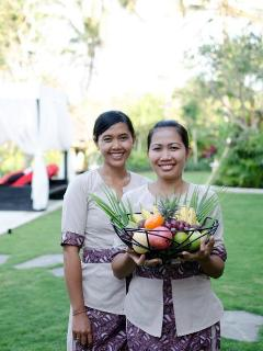 Our  villa attendants
