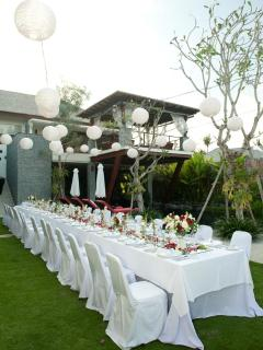 Wedding seup