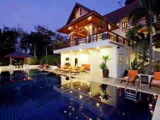 pool villa in patong beach phuket with sea views fitness room fully staffed