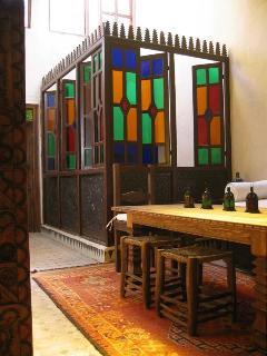 Lounge & inside breakfast area