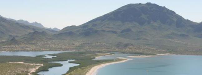 Protected Estero, short walk down beach
