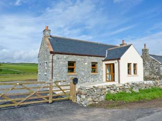 2 SOUTH MILTON COTTAGES, detached property, with sea views, woodburner, off road parking, garden, near Glenluce Ref 14724