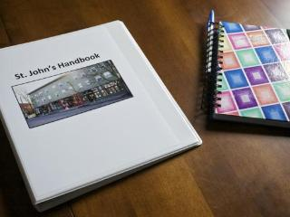 Every apartment has a manual with apartment info, local maps, menus and neighborhood info.