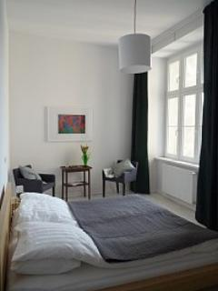 Sleeping room 2 with kingsize double bed