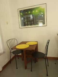Dining Area, Close Up