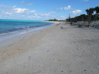 Beach in front of house looking it's best.  Enjoy swimming, floating, snorkeling and so much more.