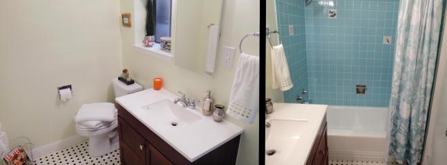 bathroom - tub and shower