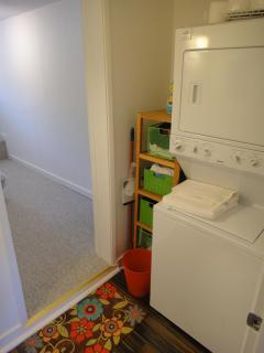 laundry with washer & dryer