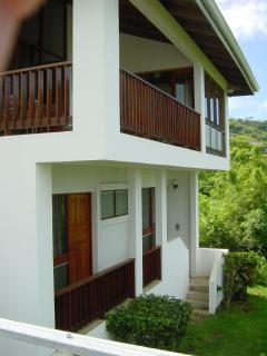 Ocean Side of Villa (Deck opens from Master BR)