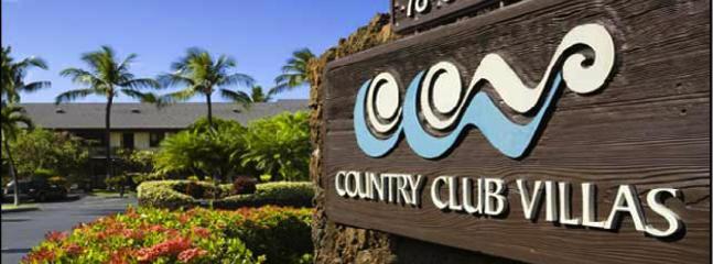 Entrance to Country Club Villas complex