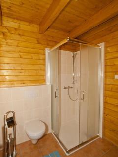 bathroom at the ground floor