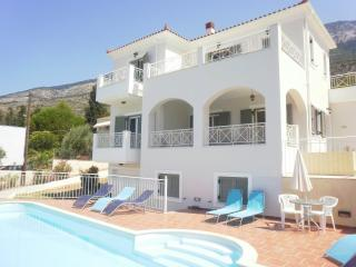 Kefalonia Villa ,3 bedrooms,Sea views,Pool,Lourdas