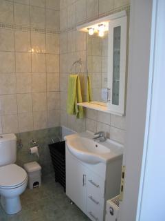 Bathroom partial view