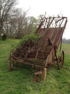 Antique hay equipment recalls 150 years of family farming around Vista