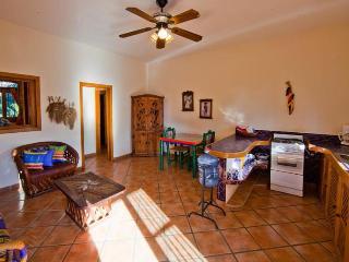 Living room Kitchen One bedroom