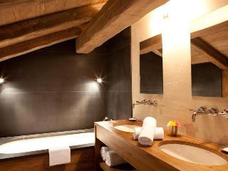 Stylish clean bathrooms