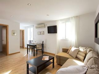 Living area with double sofa-bed for any additional guests.