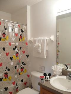 Kid's en-suite bathroom to Princess theme room.