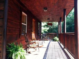 Large front porch gives you a place to rock in the breeze.
