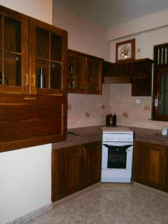 Separate spacious well equiped Kitchen.