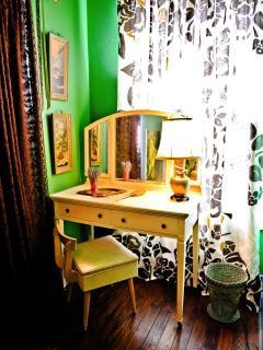 Vanity in Delta Princess Bedroom
