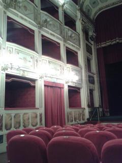 Stabile Theatre (inside) in Potenza