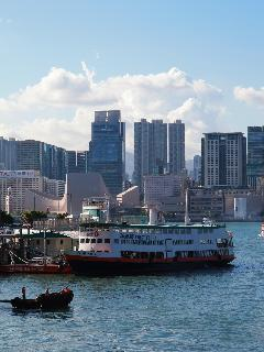 The Star Ferry is also within walking distance