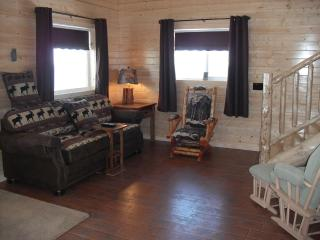 Living Room in our new Poppy Cabin #5