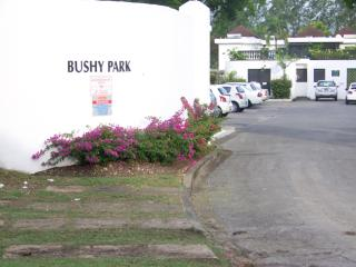 Entrance to the Bushy Park Cluster and Car park