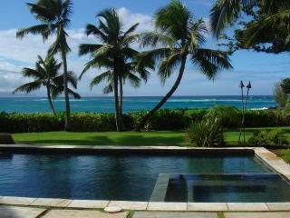 Deluxe Villa, Oceanfront, N Shore STPH 2013/0001