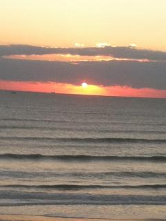 Wake up to the most gorgeous Sunrise from the Condo