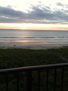 Another Panoramic View of the Sunrise on the Atlantic, from your Balcony