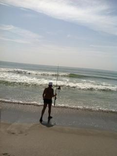Bring your fishing Rod. The Big Ones are right in front of your Condo
